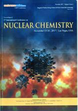 Участие в конференции Nuclear Chemistry 2017
